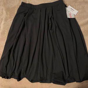 Solid black small Lularoe Madison